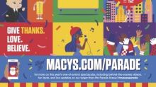 Magic On 34th Street: The World-Famous Macy's Thanksgiving Day Parade® Kicks Off The Holiday Season For Millions Of Television Viewers Watching Safely At Home