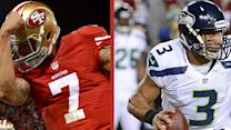 Colin Kaepernick vs Russell Wilson: running guns debate