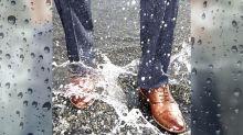 落雨返工好麻煩?推介防水皮鞋