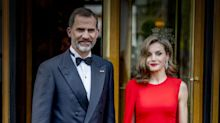 Letizia espectacular con este red look