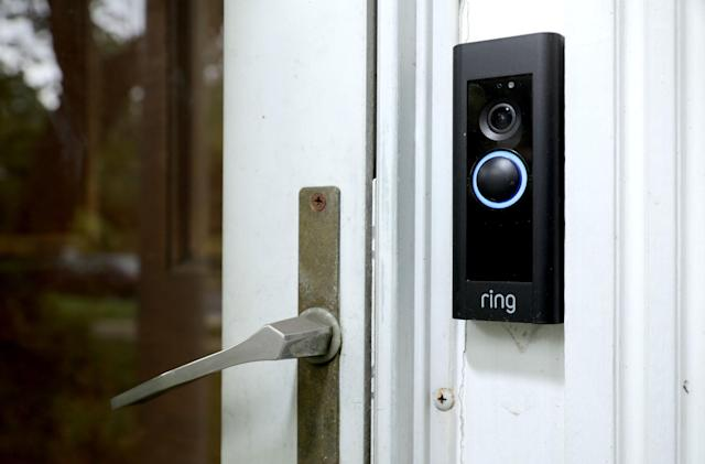 Ring temporarily pauses most third-party data collection