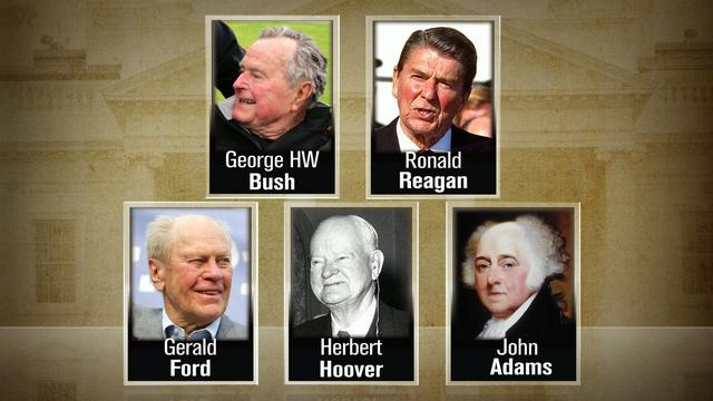 Golden years: Five presidents have reached 90