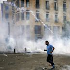 Protests turns ugly in Beirut as demonstrators take aim at political elite after massive explosion