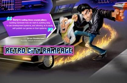 Retro City Rampage 'Retro+' graphics crash onto PS3, PS Vita