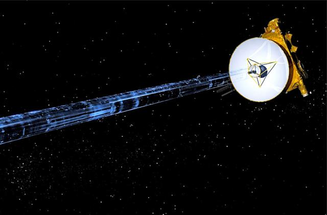 New Horizons probe may have detected Solar System's hydrogen 'wall'