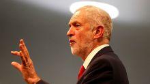 Corbyn tells Morgan Stanley - 'We're a threat'