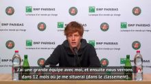 Tennis - ATP - Roland-Garros : Jannik Sinner : « Je n'ai encore rien gagné »