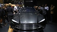 Aston Martin Slumps After 'Disappointing' Year of Profit Decline