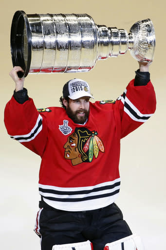 Chicago Blackhawks Parting With Cup Winning G Corey Crawford