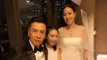 Donnie Yen's daughter performs at charity Annual Gala