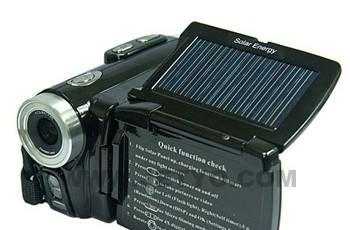Jetyo's HDV-T900 solar-powered camcorder will capture only your brightest holiday memories