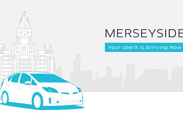 Uber comes to Liverpool and the entire Merseyside region
