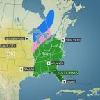 Snow, rain and wind in late-week storm to impact holiday travel