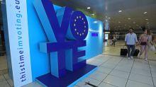 Comparecimento em eleição do Parlamento Europeu é de cerca de 50%