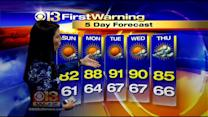 Chelsea Ingram Has Your Saturday Night Forecast
