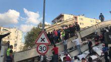 Terremoto e mini-tsunami, violento sisma nel Mar Egeo: morti e feriti