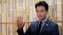 K-pop star Rain at Cartier store opening party