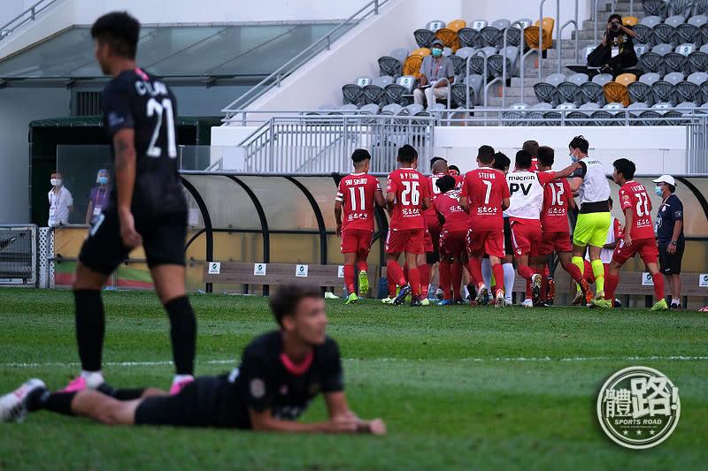 【菁英盃】晉峰驚喜僅負南區 茹子楠:希望香港足球也向地面組織進發