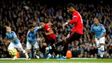 Marcus Rashford relishes challenge of reeling in Manchester United's rivals