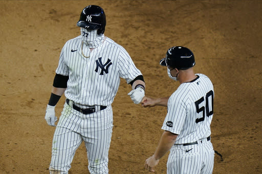 Frazier hopes he's over struggles and time with Yanks is now