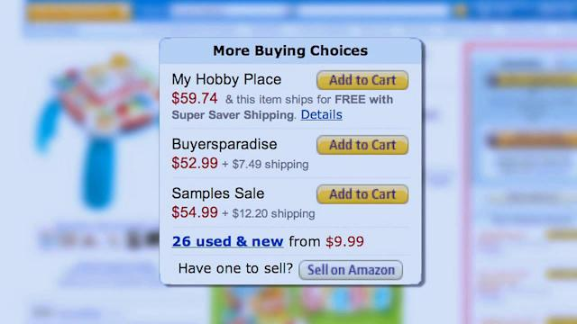 Best deals on changing online shopping prices