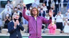 Roland-Garros (H) - Stefanos Tsitsipas(battu en finale de Roland-Garros) : «Djokovic est revenu en étant un joueur différent» après sa pause aux vestiaires
