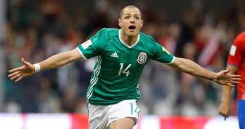 Foot - CM 2018 - MEX - Mexique : Javier Chicharito Hernandez a égalé le record de buts en sélection