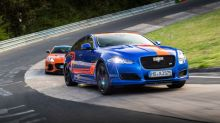 Jaguar Race Taxis will give you a lift around the Nurburgring