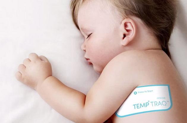 Smart thermometer is ready to track your kid's fever all day long