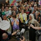 Rep. Omar gets hero's welcome on return home after whirlwind week following Trump's comments