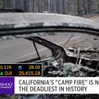 News on the move: deadly California fires, CNN lawsuit, Trump takes on France, and a possible UFO sighting
