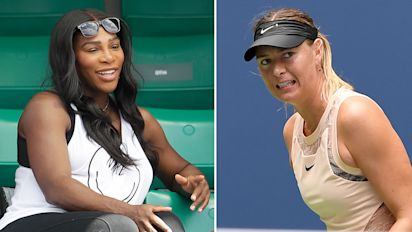 Serena writes open letter to mom, takes dig at Sharapova