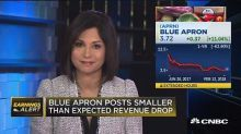 Blue Apron posts better-than-expected quarter