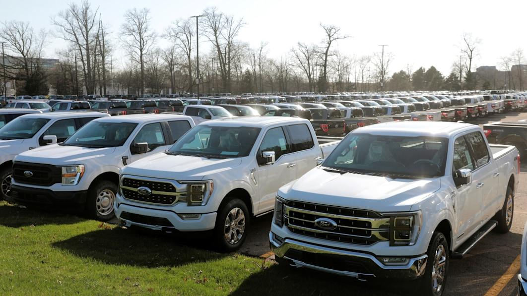 Ford contemplating delivery incomplete F-150s to sellers