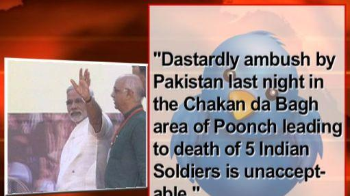Modi slams attack on Indian soldiers