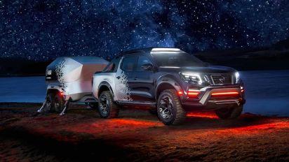 Nissan Navara Dark Sky Concept is a space observatory on wheels