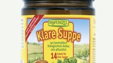 Rückruf: Suppe kann Glassplitter enthalten