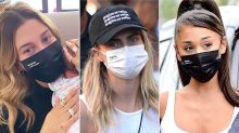 Hailey Bieber, Ariana Grande, and More Celebs Are Wearing This Breathable $2 Face Mask