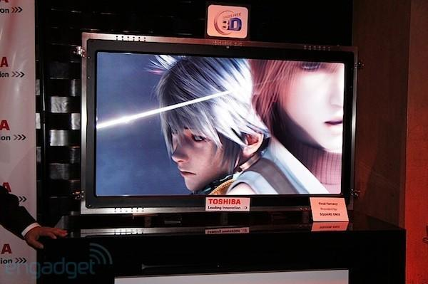 Hands-on with Toshiba's 4K glasses-free 3DTV prototype