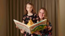 We read books to my daughter from birth, which enriched all our lives