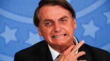 Chicletes com leite condensado levam Bolsonaro à congestão