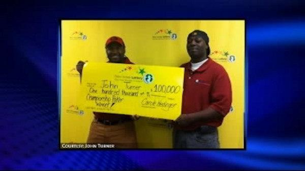 Hurricane recovery worker hits lotto jackpot