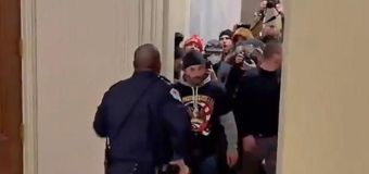 Bill set to honor officer who led rioters away from Senate