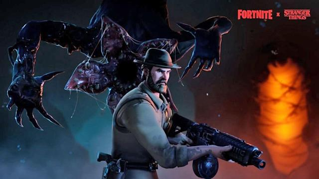 'Stranger Things' x 'Fortnite' crossover adds a couple of skins