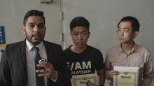 UM protest grad receives cert, demands university show sincerity by retracting police report