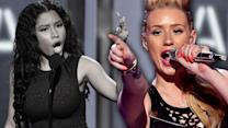 Iggy Azalea Responds to Nicki Minaj DISS at Bet Awards 2014!