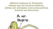 Atención médica a cambio de votos en Madurolandia