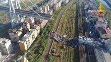 Creaking heard from remnant of Genoa bridge after fatal collapse, evacuees kept away