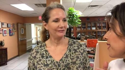 Talking Politics at 'The Gathering Place' Diner in Florida