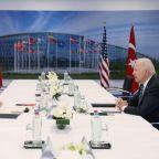 Erdogan says U.S.-Turkey problems can be solved after Biden meet